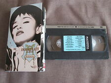 MADONNA The Immaculate Collection JAPAN NTSC VHS w/SPECIAL SLIP CASE WPVR-64
