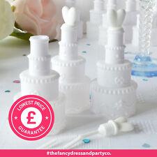 24 Wedding Cake Bubbles Table Confetti Favours Decoration