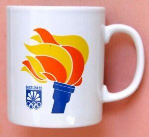 1992 BARCELONA OLYMPICS NBC COFFEE MUG CUP