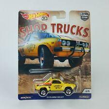 Subaru Brat Pickup, Shop Trucks  die cast toy car Culture Hot Wheels