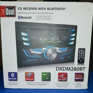 Double DIN Car Stereo AM/FM Receiver wireless Bluetooth CD USB MP3  WMA Player