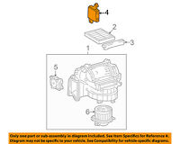 88650-33871 Toyota Amplifier assy, air conditioner 8865033871, New Genuine OEM P