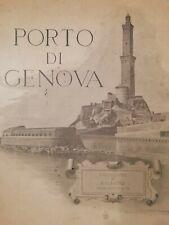Molto raro - Porto di Genova 1891 Corpo Reale del Genio Civile