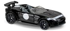 JAGUAR F-TYPE PROJECT 7 1:64 (Black) Hot Wheels MIP Passenger Diecast Sports Car
