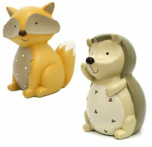 Adorable Children's Ceramic Novelty Money Box ~ Forest Animal Piggy Bank