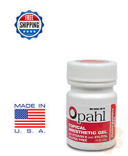 Opahl 20% Benzocaine Topical Anesthetic Gel RASPBERRY Tattoo Numbing Piercing