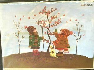 Sweet Autumn Papyrus Thanksgiving Card - Enjoy the many delights of the season