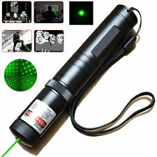 2 in 1 1mW 532nm Green Laser Pointer Light Pen Lazer Beam High Power Star Cap