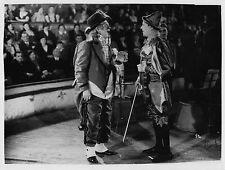 Photo originale Henri Rollan Pierre Larquey clown Bux cirque Jacques Natanson
