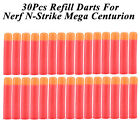 30Pcs Refill Darts Blaster Fr Nerf N-Strike Mega Centurion Toy Gun Sniper Bullet