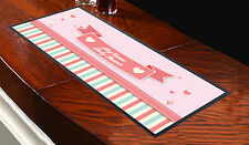 PERSONALISED PINK BABY SHOWER DESIGN BAR RUNNER MUM TO BE GREAT GIFT IDEA