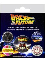 Anstecker-Paket Back To The Future Delorean