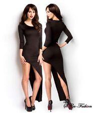 Asymmetrische Damenkleider ohne Muster Normalgröße