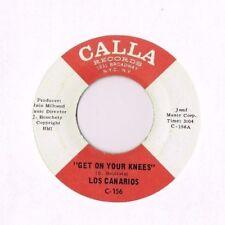 Northern Soul Mod 45 - Los Canarios - Get On Your Knees - Calla - HEAR!!!!