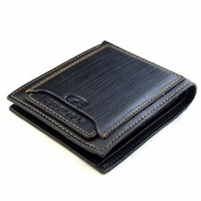 Men's Genuine Leather Credit Card Holder Wallet Bifold ID Cash Coin Purse Clutch