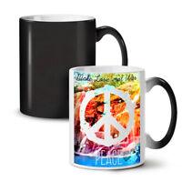 Make Love Not War Fashion NEW Colour Changing Tea Coffee Mug 11 oz | Wellcoda