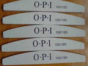 Nail File 100/180 Grit Sanding Buffing OPI Nail Buffer Nail Art Manicure Tools
