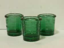Yankee Candle, 3er Set Lanternes, Votive Holder ~7cm Haut, Vert
