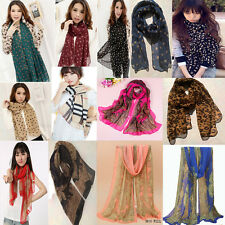 Gift Pack of Colourful Chiffon Scarfs Lots of Five Clearence Sale Random colors