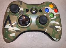 OEM Halo 4 Camo Xbox 360 Wireless Controller Gamepad XB360 Camouflage 1403