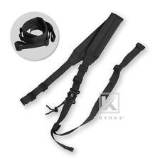Krydex MK2 Sniper Sling Padded Gun Sling Durable Strap 2Point Quick Detach Black