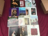 7 Jazz VG++ Record LOT Albums Mixed Vinyl Brass Strings Crooners 1950-80s