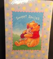 NEW!  Hallmark DISNEY WINNIE the POOH Photo Album SWEET SMILES Expandable!