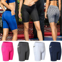 Women Boardshorts Surf Beach Shorts Swim Sports Trunks Quick Dry Mini Pants H7G3