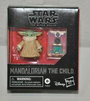 Star Wars Black Series Mandalorian The Child Baby Yoda Grogu 1.1 inch Figure New