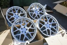 19x8.5 AodHan LS002 5x112 +35 Silver Wheels Fits Audi A4 (Used)
