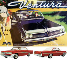 1961 Pontiac Ventura in 1:25 Model Kit Bausatz Moebius 1211