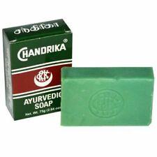 Chandrika Ayurvedic Soap 2.64 oz. / Free Shipping