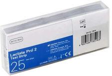Arcray Lactate Pro 2 Teststreifen - 25 Lactat-Teststreifen neu+OVP vom med. FH