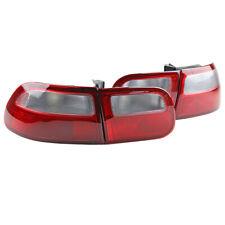Red & White Rear Tail Light Lamp For Honda Civic EG EG6 EH 3DR Hatchback 92-95