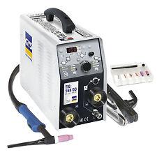 Saldatrice acciao inox rame TIG 168DC HF INVERTER 011410 GYS idraulico caldaista