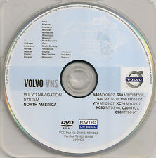 2002 To 2008 2009 Volvo S60 Navigation Dvd Map Cover Midwest Southeast Region