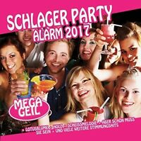 SCHLAGER PARTY ALARM 2017  2 CD NEU
