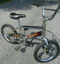 "Thruster Aggressor 16"" Child's Bike Bmx Chrome Bicycle old mid school tri power"