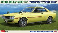 Hasegawa 20265 1/24 Scale Model Car Kit Toyota Celica 1600GT Genuine Wheel Ver.