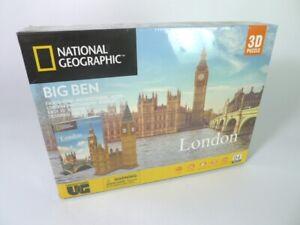 London Big Ben National Geographic 3D Puzzle Building - Fast Postage UK Seller