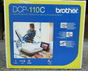 Brother DCP-110C Colour Inkjet Multi-Function Printer Scanner Copier - No print