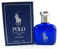 Polo Blue By Ralph Lauren Men Mini 0.5 .5 oz 15 ml Eau De Toilette Splash Nib