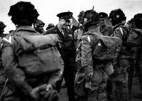 6x4 Photo ww192 Normandy Greenham Common 1944 505th Pir 101st Air Eisenhower