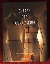 Entrée des Fournisseurs/Trademen's Entrance Haute Couture French Book ~ 1990