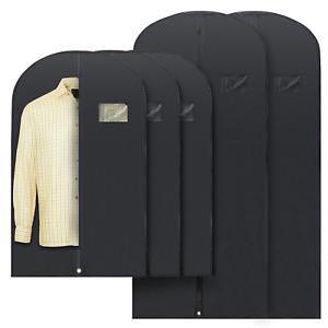 Plixio Garment Bags Suit Bag Clothing Storage for Dresses Suits Long/Medium Size