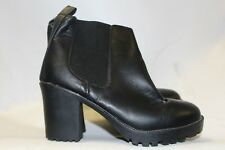 Ladies Black chunky boots from Atmosphere Size 36 uk 3
