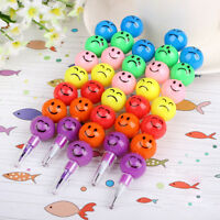 Funny Stationery Pen 7 Smiling Colors Crayons Candied Fruits Pen 1PC