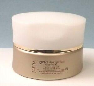 Jafra Gold Dynamics Firm + Correct Night Moisturizer 1.7oz Skin Age 50+
