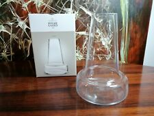 Holmegaard Flora, Beautiful Glass Vase High 9 3/8in, Design Louise Campbell