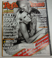 Rolling Stone Magazine Pamela Anderson & Tommy Lee May 2001 042515R